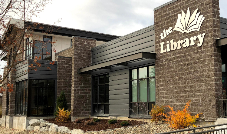 sandpoint library exterior